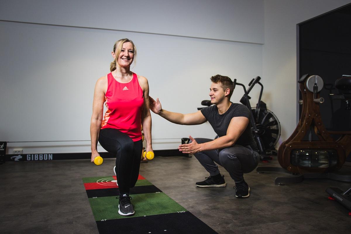 Personal Training mit Frau